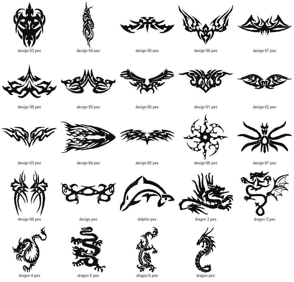 Tattoo Collection V1 4x4